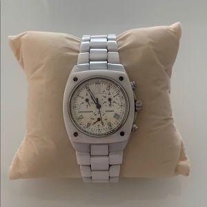 Erwin Pearl White Ceramic Watch